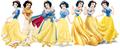 Snow White dress evolution