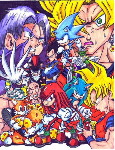 Sonic and Dragon Ball Z