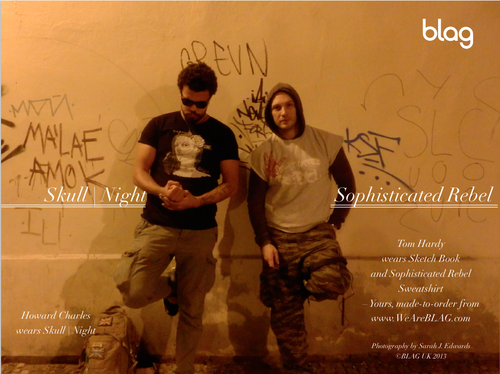 Sophisticated Rebel/Skull Night t. Blag Mag