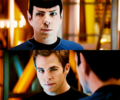 Spock/Kirk - spirk fan art