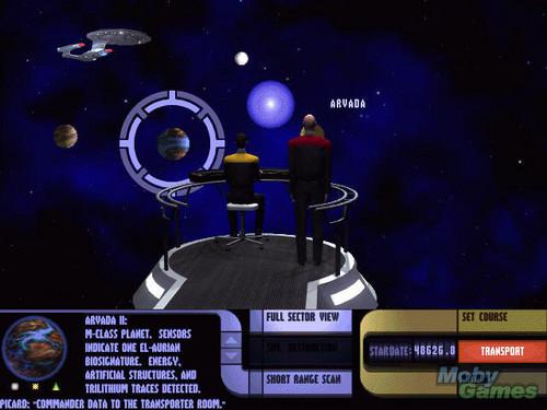 ngôi sao Trek: Generations (video game)