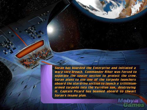 星, つ星 Trek: Generations (video game)