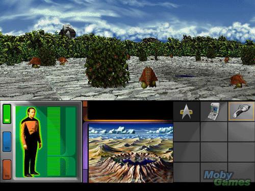 星, 星级 Trek: Generations (video game)