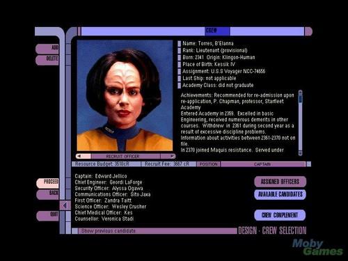 별, 스타 Trek: Starship Creator