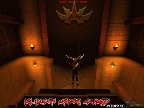 سٹار, ستارہ Trek: The اگلے Generation - Klingon Honor Guard