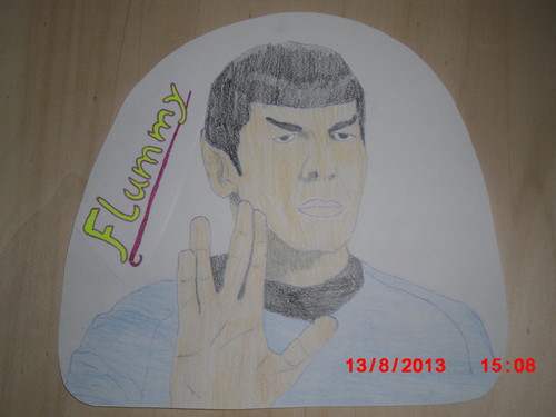 star, sterne Trek drawing