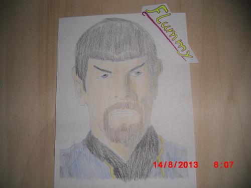bintang Trek drawing
