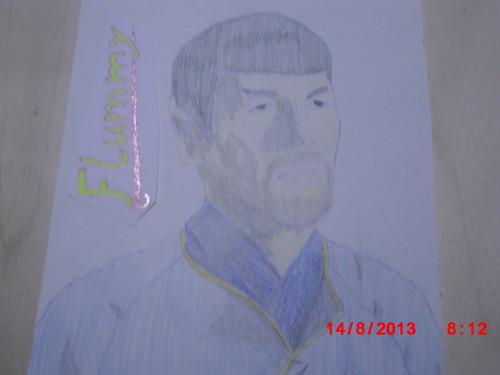 bituin Trek drawing