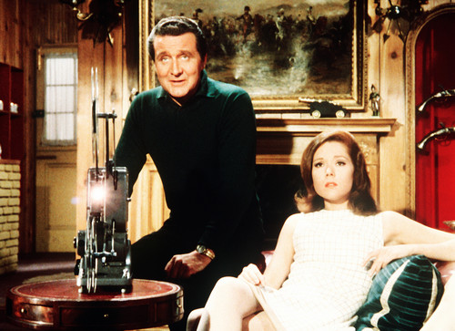 coursier, steed & Mrs. Peel