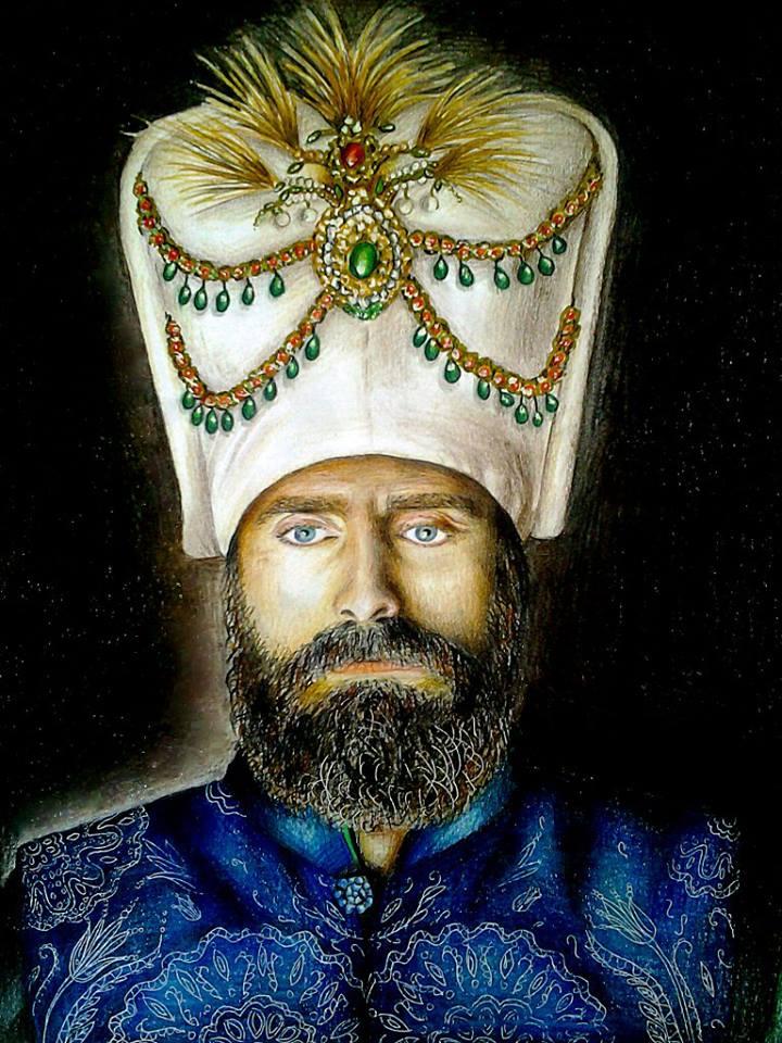 Sultan Suleyman portrait