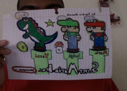 Super Mario Artwork