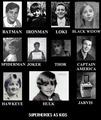 Superhero kids - batman fan art