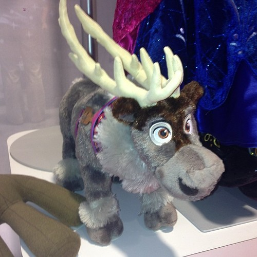 Frozen wallpaper containing a triceratops entitled Sven Plush from Disney Store