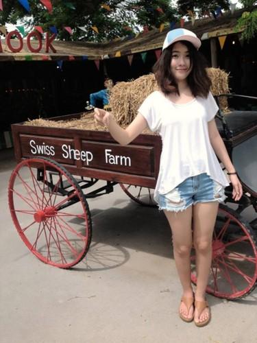 Swiss भेड़ Farm! Amma Cowgirl! :>