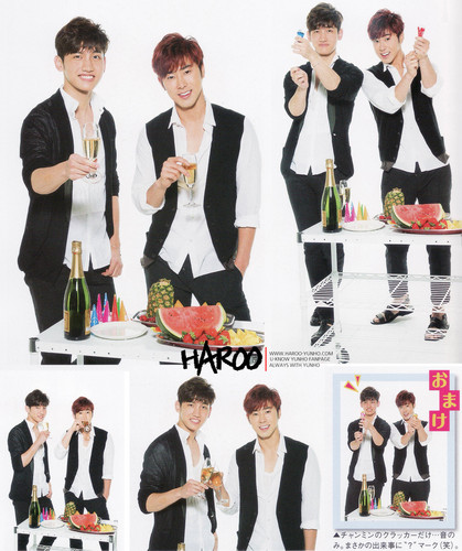 TVXQ FEATURED IN ARENA 37° SEPT ISSUE Япония 2013