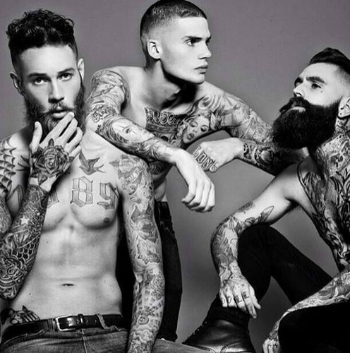 Tattoos wallpaper called Tattooed guys