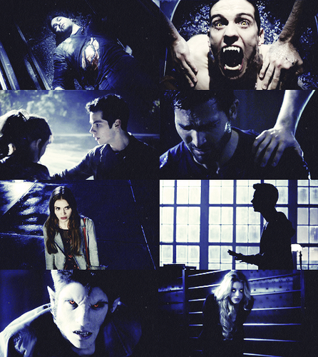 Teen Wolf + colors