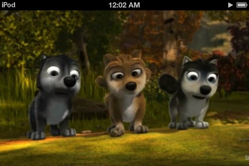 Alpha and Omega 2: a howl-iday adventure Hintergrund called Th pups and parents