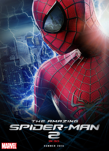 Spider-Man wallpaper probably containing anime titled The Amazing Spider-Man 2 New Poster!