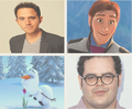 The Cast of Frozen