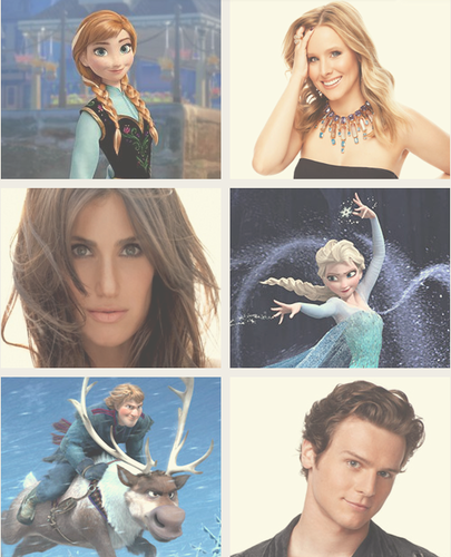 The Cast of Frozen.