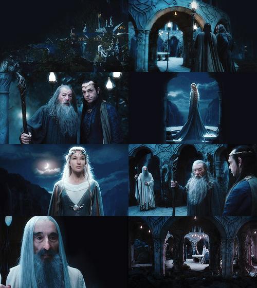 The Hobbit collage