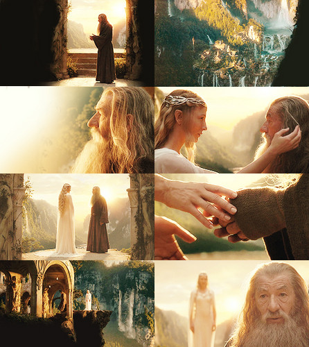 The Hobbit collage