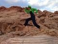 The Luigi Travels: Luigi High jumping at Red Rock!