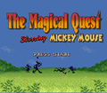 The Magical Quest Starring Mickey Mouse - mickey-mouse photo