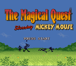 The Magical Quest Starring Mickey 쥐, 마우스