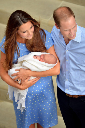 The Prince of Cambridge Makes His Debut