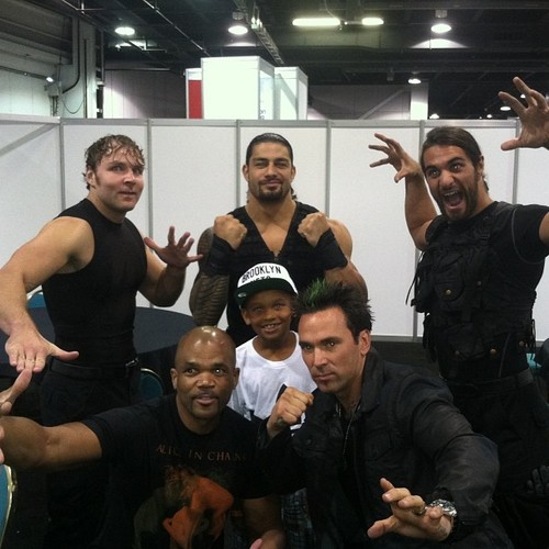 The Shield with Jason David Frank, the original green Power Ranger