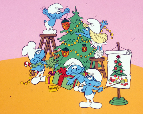 Memorable TV wallpaper containing anime called The Smurfs