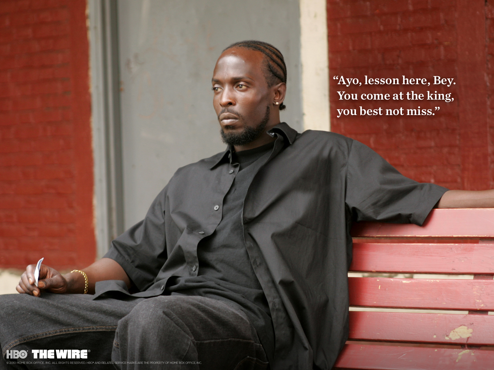 The Wire images Omar Little HD fond d\'écran and background photos ...