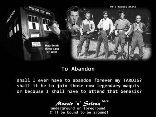 To Abandon
