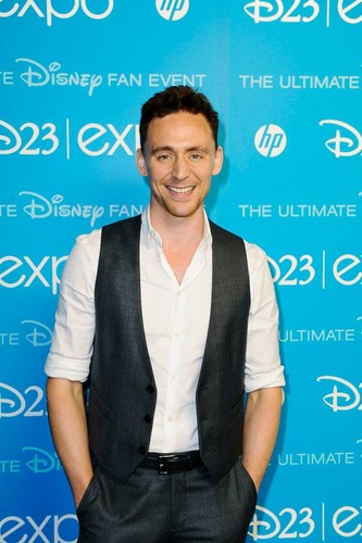 Tom at D23 Expo