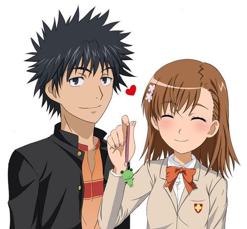Touma and Misaka