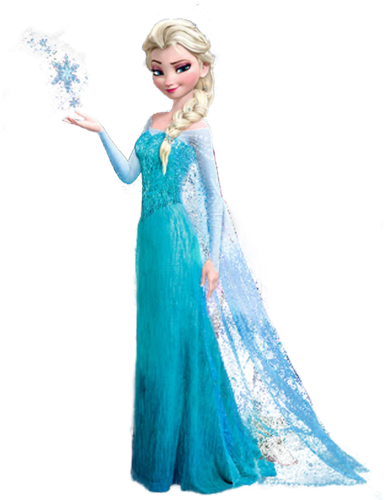 Frozen wallpaper possibly with a makan malam dress titled Transparent Elsa