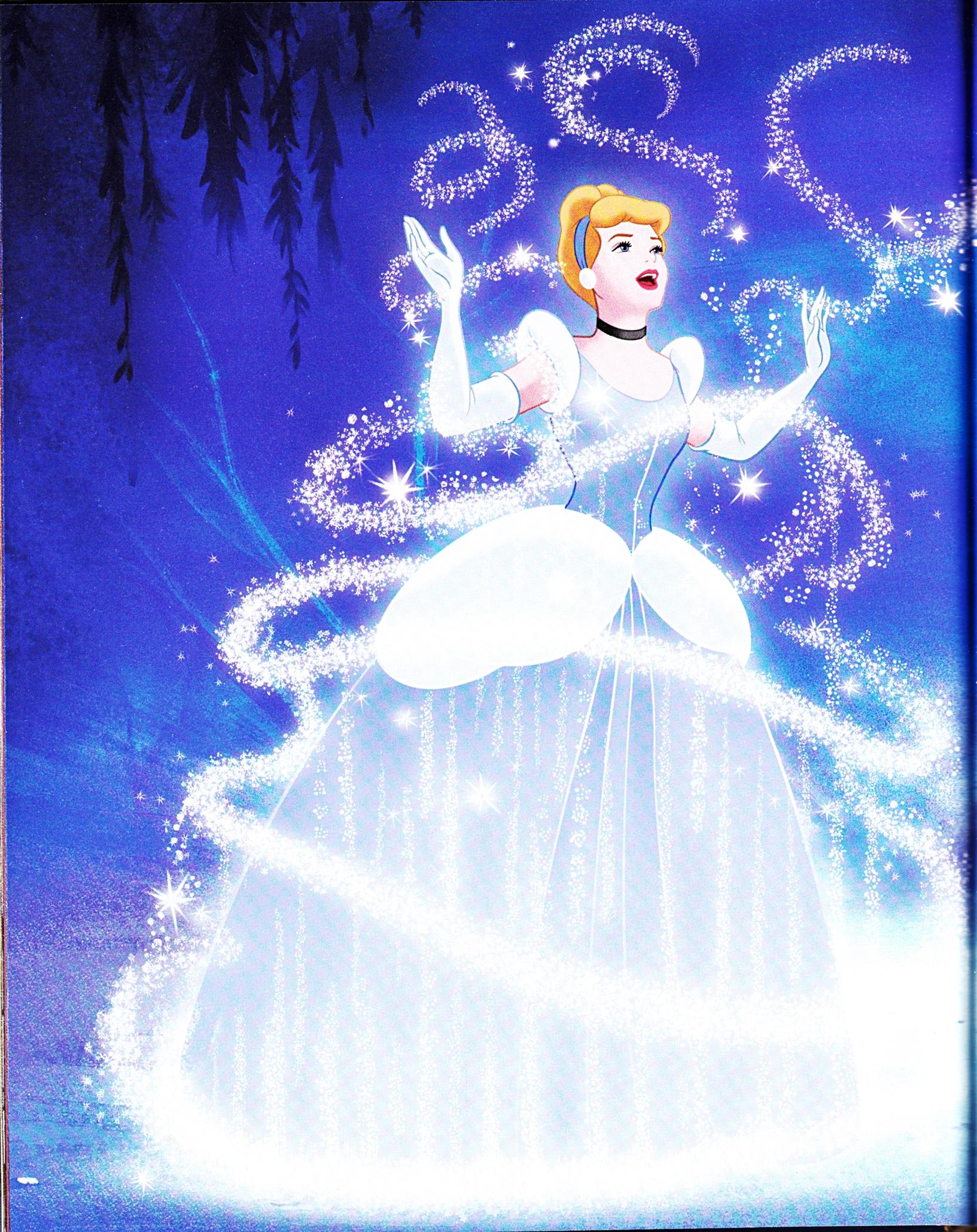 Walt Disney Book Images - Princess Cinderella