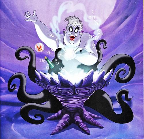 Walt 迪士尼 Book 图片 - Ursula