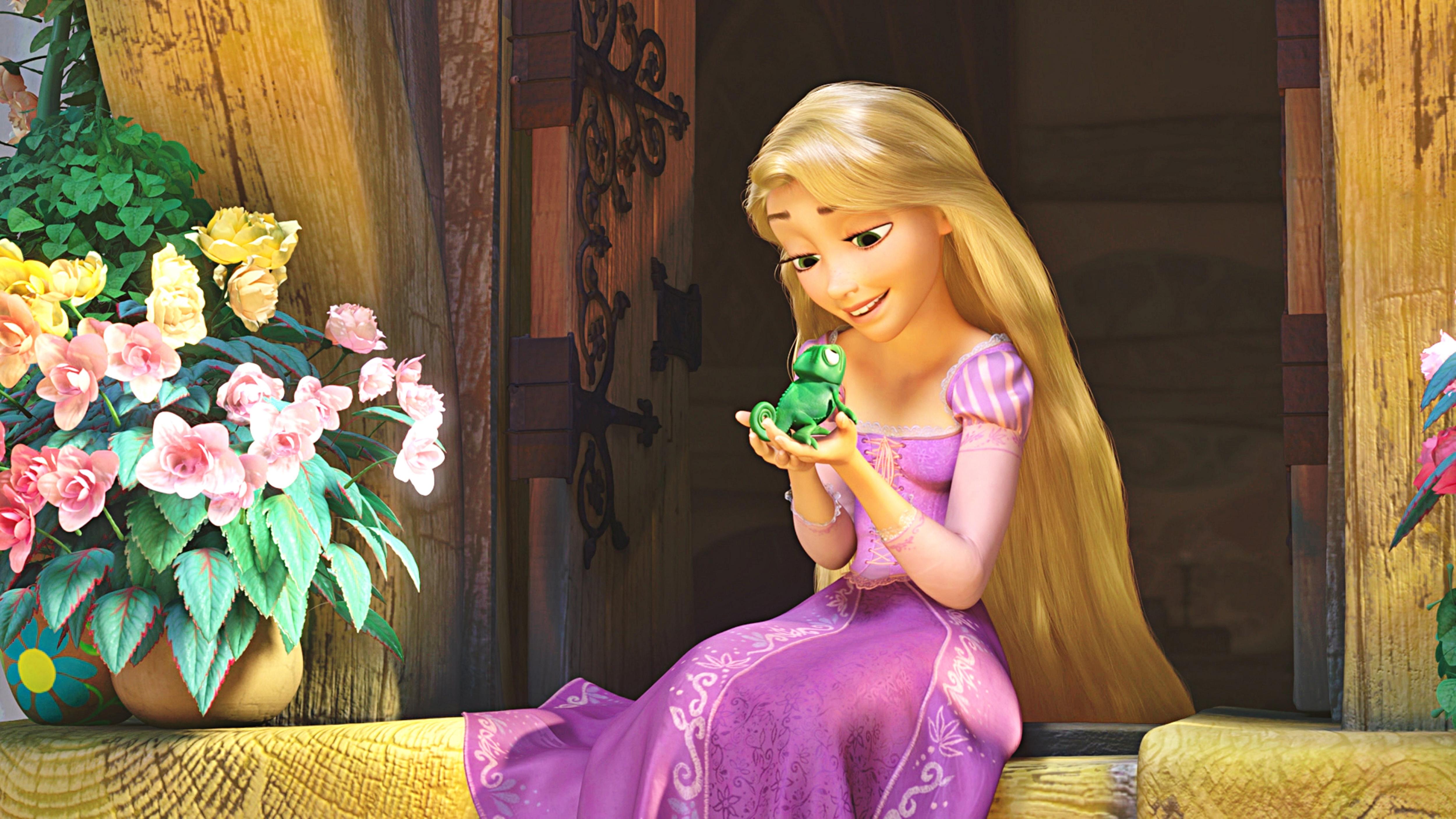 NEW Disney Store EXC. Tangled Princess RAPUNZEL PASCAL ... Disney Rapunzel Screencaps