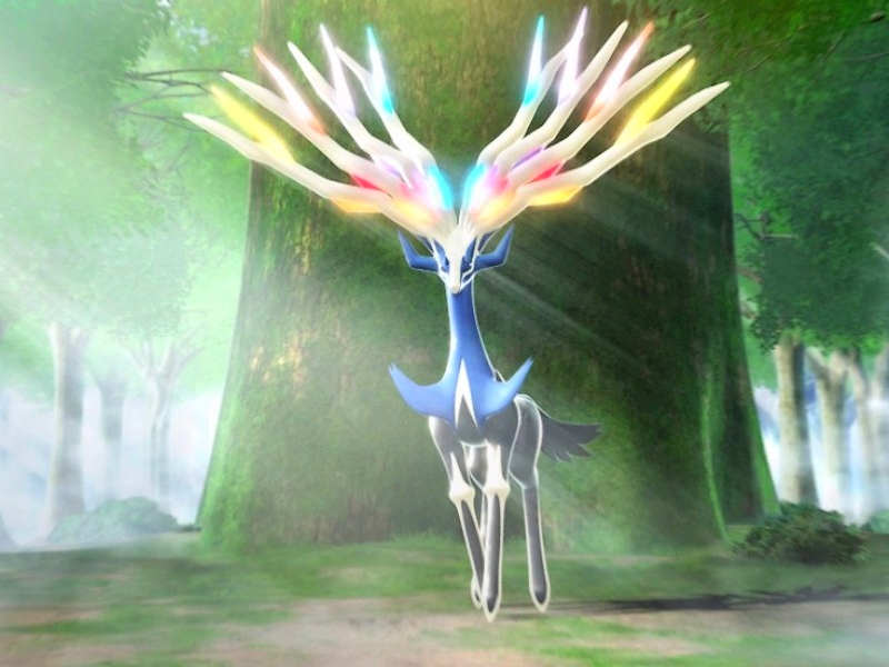 almost 2 years ago Xerneas Desktop Wallpaper