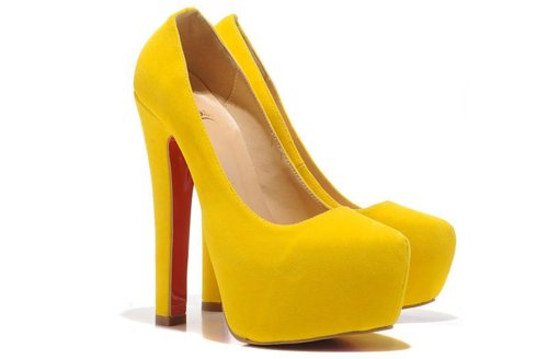 High Heels images Yellow High Heels ♡ wallpaper and background ...