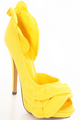 Yellow High Heels ♡ - high-heels photo