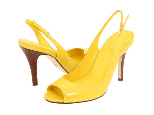 Yellow High Heels ♡
