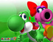 Yoshi and Birdo in Mario Party 7