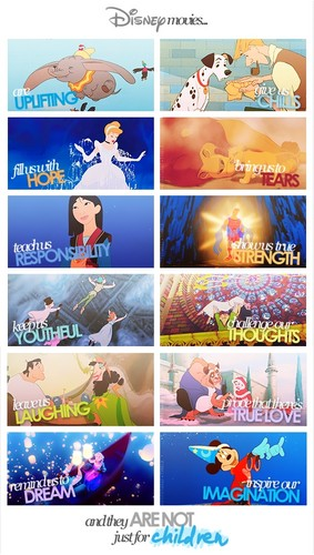 You're never too old for disney
