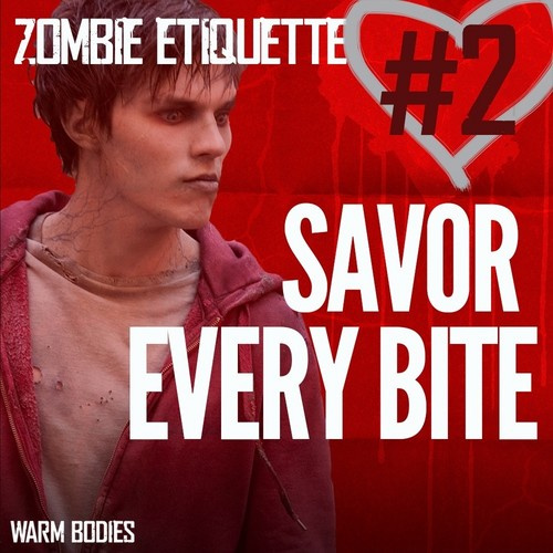 Warm Bodies Movie Hintergrund with Anime called Zombie Etiquette