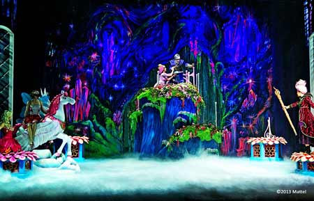 barbie mariposa and the fairy princess live