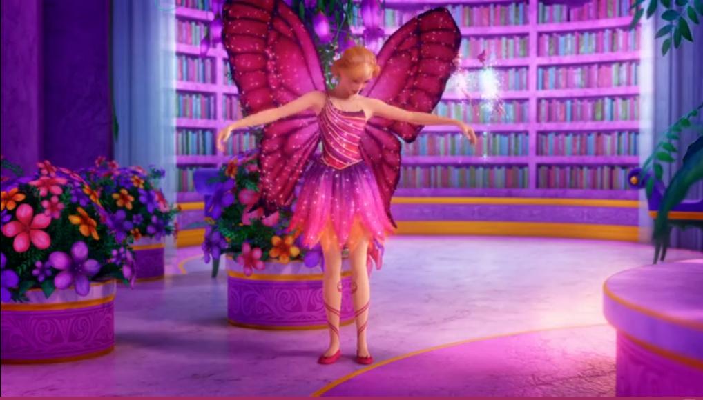 Барби mariposa & the fairy princess video Музыка